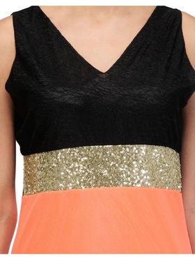 Arisha Viscose Solid Dress DRS1027_Pch