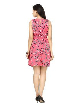 Arisha Crepe Printed Dress DRS1052_Rani-M