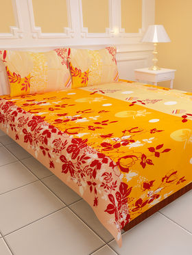 Royal Home Pack of 7 Designer Bedsheets (7BS1)