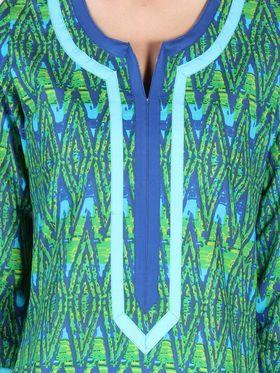 Branded Cotton Printed Kurtis -Ewsk0715-1410