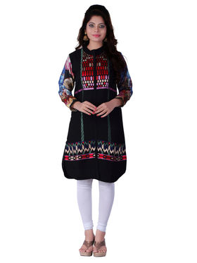 Viva N Diva Georgette Embroidered Kurtis -Ethnic Chic-Vnd-38