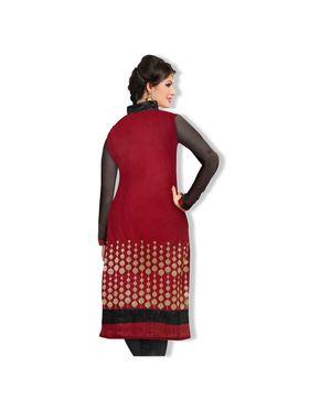 Fabfiza Printed Cotton Semi Stitched Straight Suit_FBDM5-028