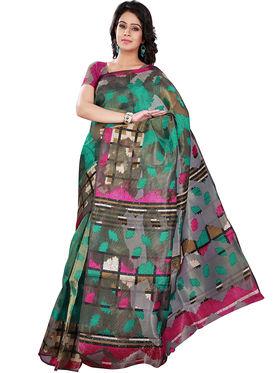 Florence Bhagalpuri silk Printed  Sarees FL-10980-B