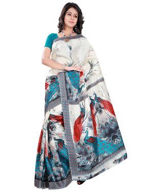 Florence Art Silk Printed  Sarees FL-10983