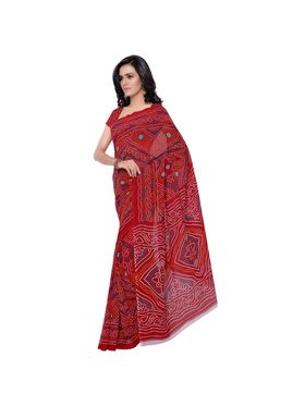 Florence Printed Faux Georgette Sarees -FL-11222
