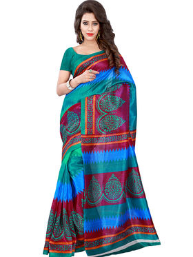 Florence Printed Bhagalpuri Silk Sarees FL-11681