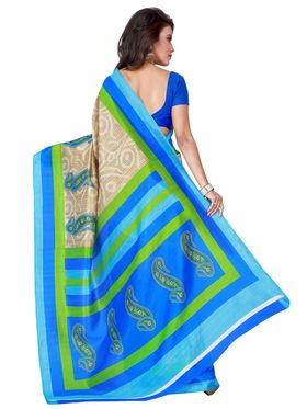 Florence Printed Bhagalpuri Silk Sarees FL-11685