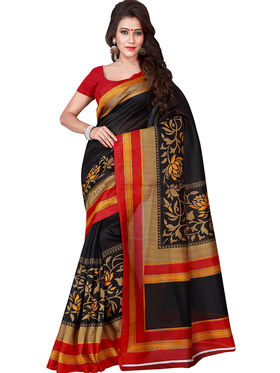 Florence Printed Bhagalpuri Silk Sarees FL-11689