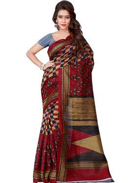 Florence Printed Bhagalpuri Silk Sarees FL-11691