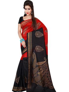 Florence Printed Bhagalpuri Silk Sarees FL-11720