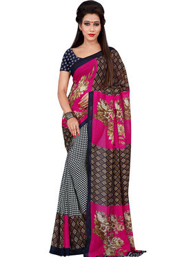 Florence Printed Faux Georgette Sarees FL-11749