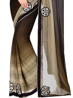 Shonaya  Embroidered Georgette Sarees -Hiimx-6034