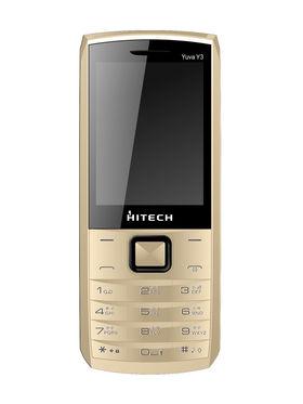 Hitech YuvaY3 Dual Sim - Gold