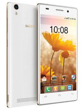 Intex Aqua Power Plus- 5 Inch HD IPS, Lollipop 5.0 OS, Quad Core, 2GB RAM, 16GB ROM, With 4000mAh Battery - White