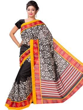 Ishin Bhagalpuri Cotton Printed Saree - Multicolor - ISHIN-2419