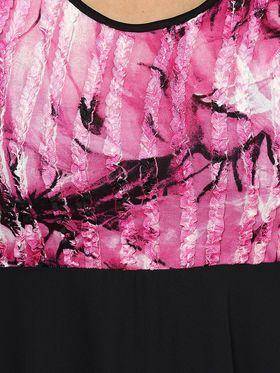 Kaxiaa Polyster Plain Dresses -K-1048