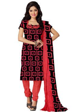 Combo of 7 Khushali Fashion Crepe Printed Dress Material -Kfcmbo101
