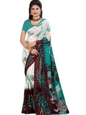 Arisha Georgette Printed Saree -Khgsstar210