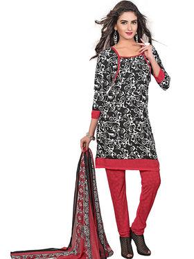 Khushali Fashion Crepe Printed Dress Material -Kpplpl8008