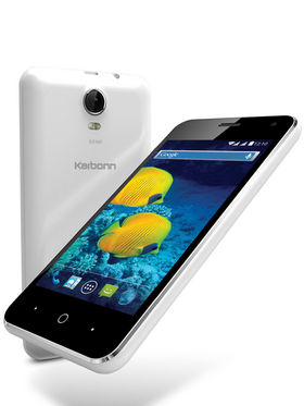 Karbonn Titanium S15 Android Kitkat Quad core Processor 3G Smartphone - White