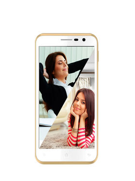 Karbonn Titanium Dazzle S201 5-Inch Android Kitkat, Quad Core Processor, 1 GB RAM and 8 GB ROM - White