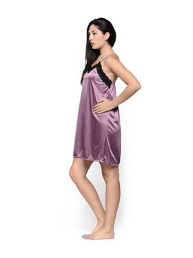 Set of 2 Klamotten Satin Solid Nightwear - X100-157