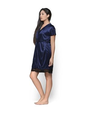 Set of 2 Klamotten Satin Solid Nightwear - X30-67