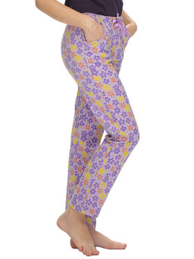 Clovia Cotton Printed Pyjama -LB0020P12