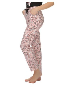 Clovia Cotton Printed Pyjama -LB0020P49