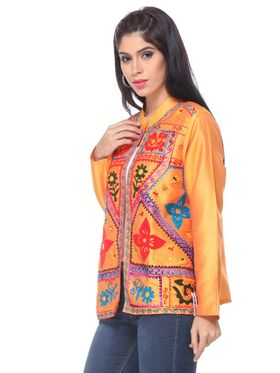 Lavennder Shantoon Embroided Summer Jacket -LJ-24102
