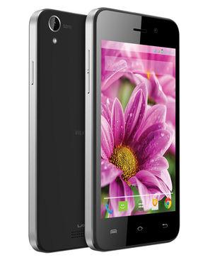 Lava�IRIS ATOMX 4 Inch Android 4.4.2 KitKat - Black