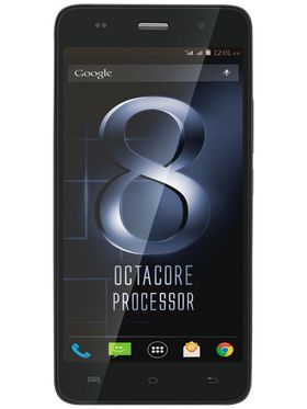 Lava Iris X8- Black 5 Inch HD IPS Display, Update to Lollipop, 1.4 Ghz Octa-Core Processor, 2 GB RAM, 16 GB ROM