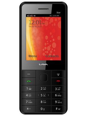 Lava KKT Star Dual Sim Phone - Black & Blue