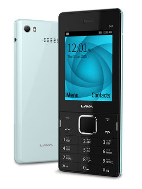 Lava�SPARK 242 2.4 Inch Dual SIM Mobile Phone - PRUSSIAN BLUE