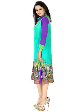 Khushali Fashion Georgette Printed Stitched Kurti -Msk2668