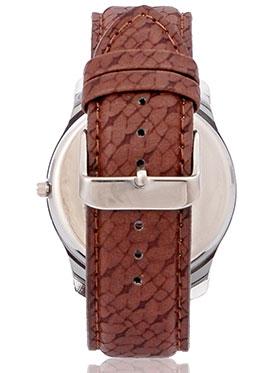 Marco Wrist Watch for Men - White_MR-GR020-WHT-BRW