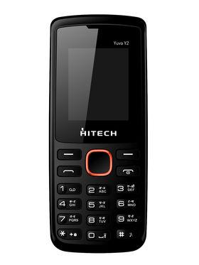 Hitech Yuva Y2 Dual SIM - Black & Orange