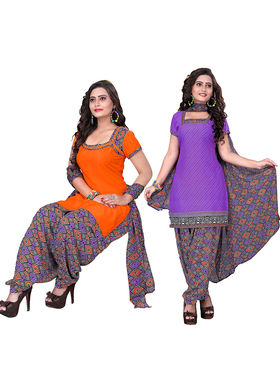 Khushali Fashion Crepe Printed Unstitched Dress Material -NKFSKS65008