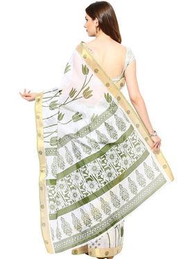 Branded Cotton Bhagalpuri Sarees -Pcsrsd34