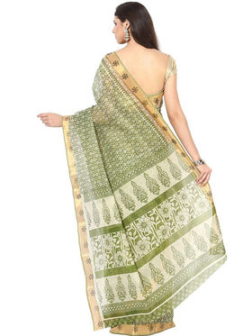 Branded Cotton Gadwal Sarees -Pcsrsd5