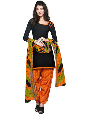 Khushali Fashion Crepe Printed Unstitched Dress Material -RFSN88014