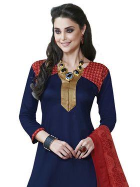 Khushali Fashion Crepe Self Dress Material -Rpsn99012