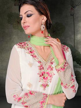 Viva N Diva Semi Stitched Georgette Embroidered Semi Stitched Suits Rihanaa-1111