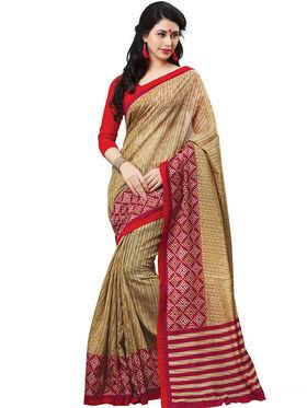 Shonaya Printed Handloom Cotton Silk Saree -Snhls-2010-B