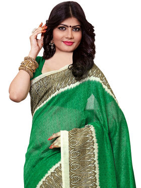 Shonaya Printed Handloom Cotton Silk Saree -Snkvs-3010-A