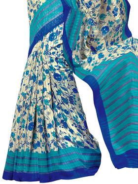 Shonaya Printed Handloom Cotton Silk Saree -Snkvs-3011-A