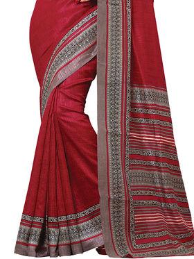 Shonaya Printed Handloom Cotton Silk Saree -Snkvs-3012-B