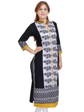 Pack of 3 Shop Rajasthan Printed Cotton Kurti -SREN9004