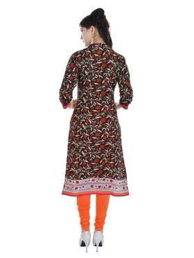Pack of 5 Shop Rajasthan Printed Cotton Kurti -SREN9001