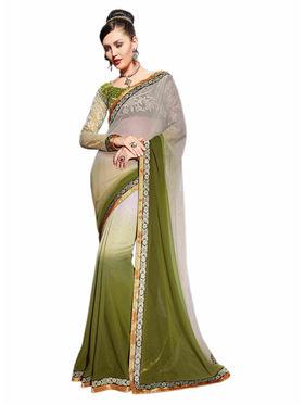 Khushali Fashion Georgette Embroidered Saree -Stast3206